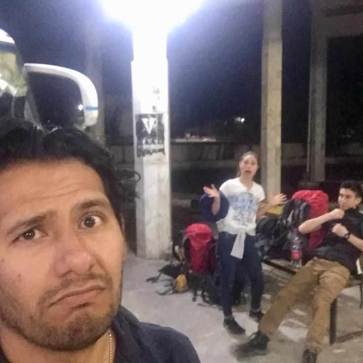 Isaí, Laura y Alberto